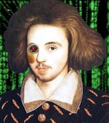 portrait de CM en cyborg